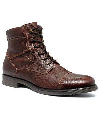 Alfani Boots Lion Captoe Lace Boots Shoes Men Macy S 99 99