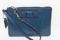 Coach Coach Darcy Bow Patent Leather Wristlet