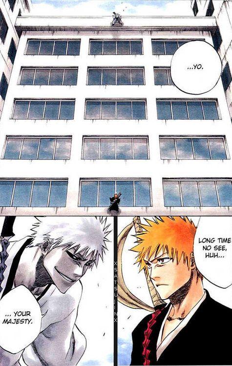 Ichigo vs Hichigo | bleach | Pinterest | Manga
