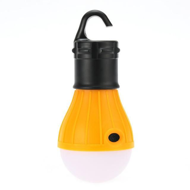 Outdoor Camping Lamp Hanging Tent Light 3 LED Bulb Camping Lanterns Po