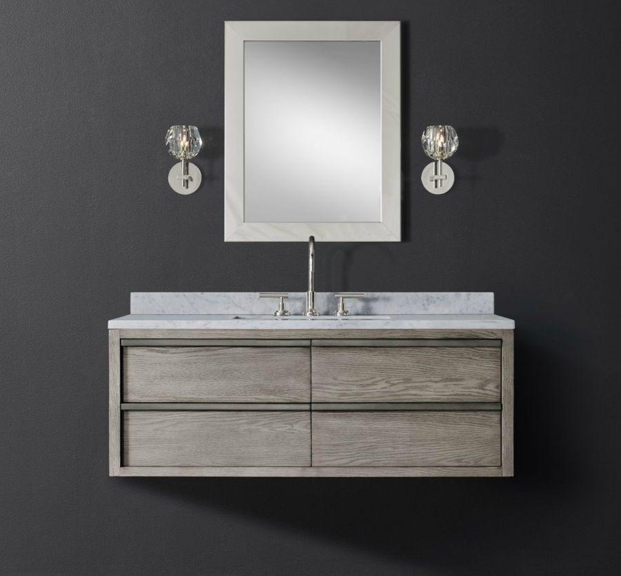 Single Wide Floating Vanity From RH Modern   Decoist