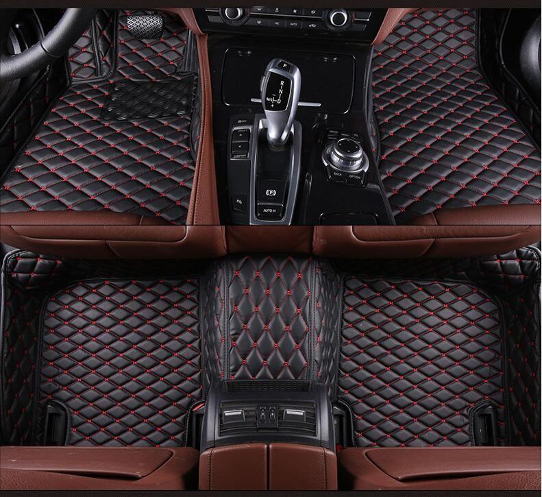 3D Luxury Slush Floor Mats Foot Pad Mat For BMW X5 E70