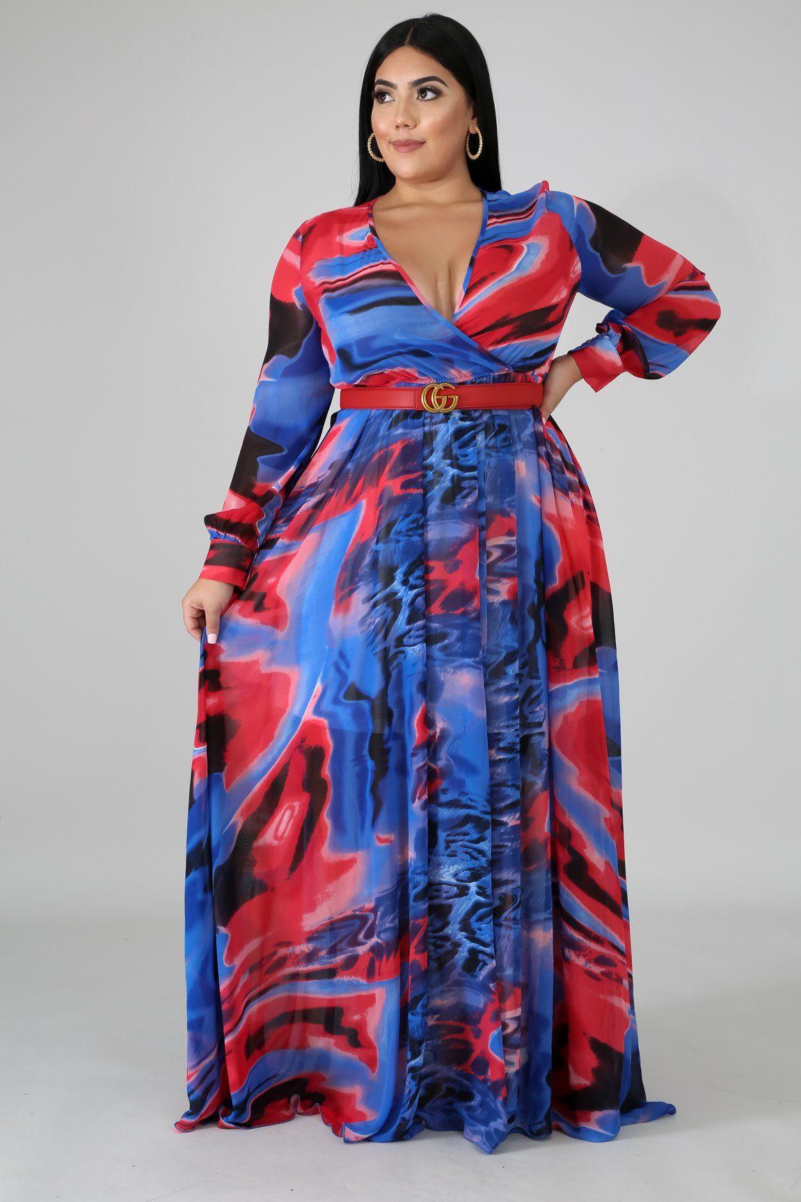 Color Swirl Maxi Dress Style Gt19203 Xdescriptionthis Color Swirl Maxi Dress Features A Non Stretchy Fa Long Dress Fashion Maxi Dress Plus Size Maxi Dresses [ 1727 x 1151 Pixel ]