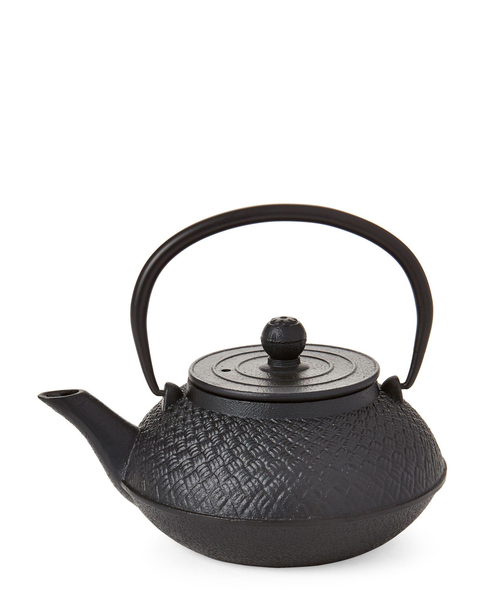 Just Teazen Cast Iron Tea Kettle Tea set, Espresso