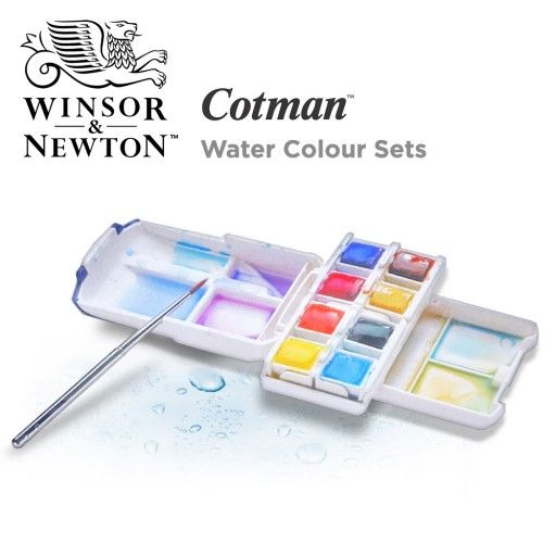Winsor Newton Cotman Water Colour Sets Watercolor Paint Set