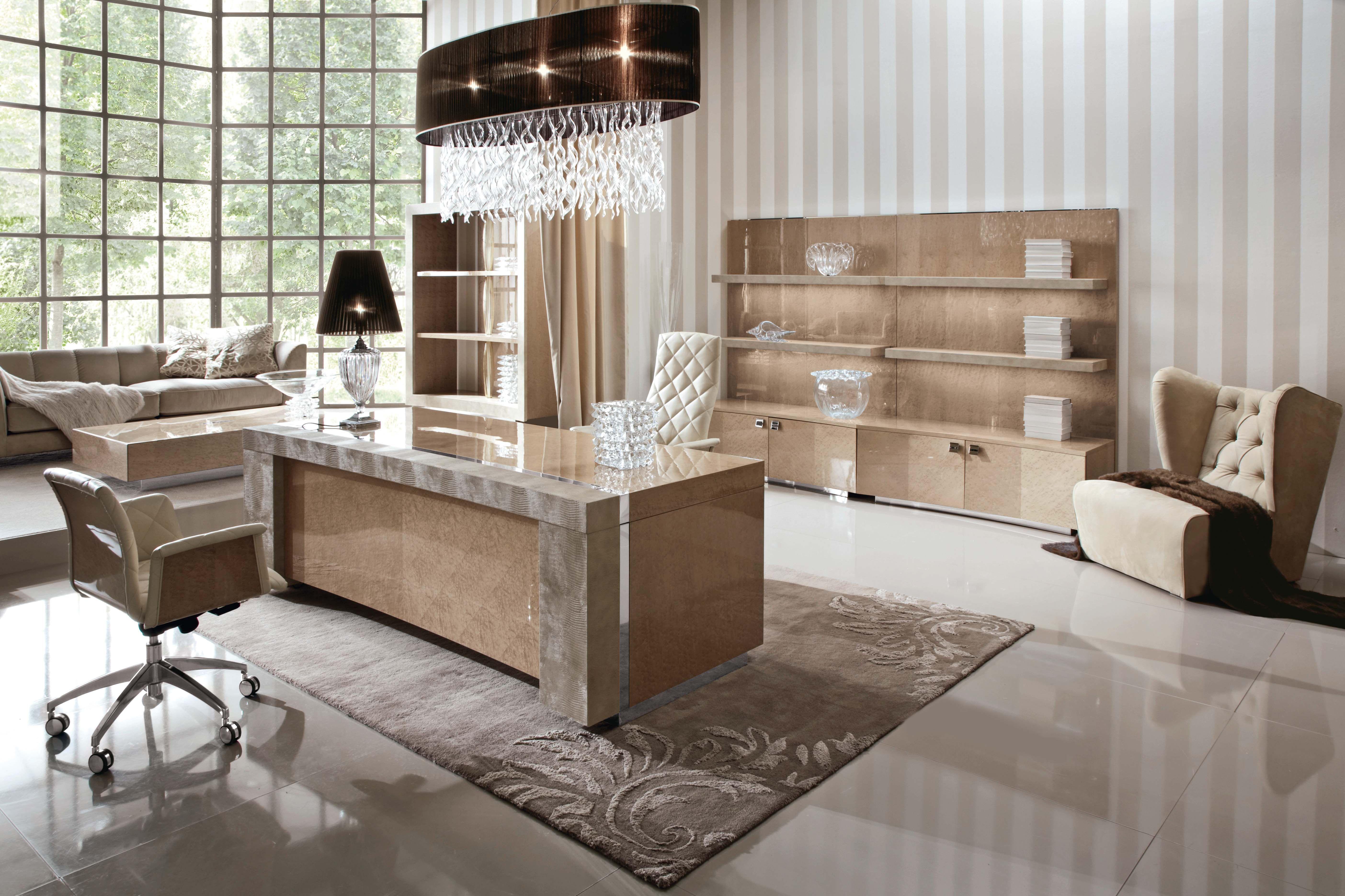 Meubles de luxe luxueux bureau contemporain luxueux