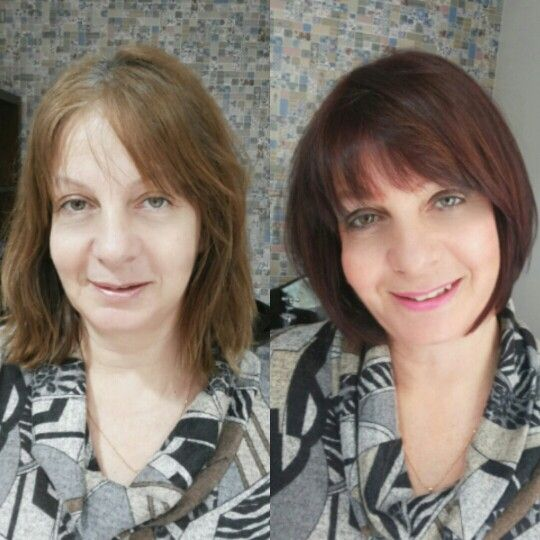antes e depois cabelos before after hair hair my jobs pinterest