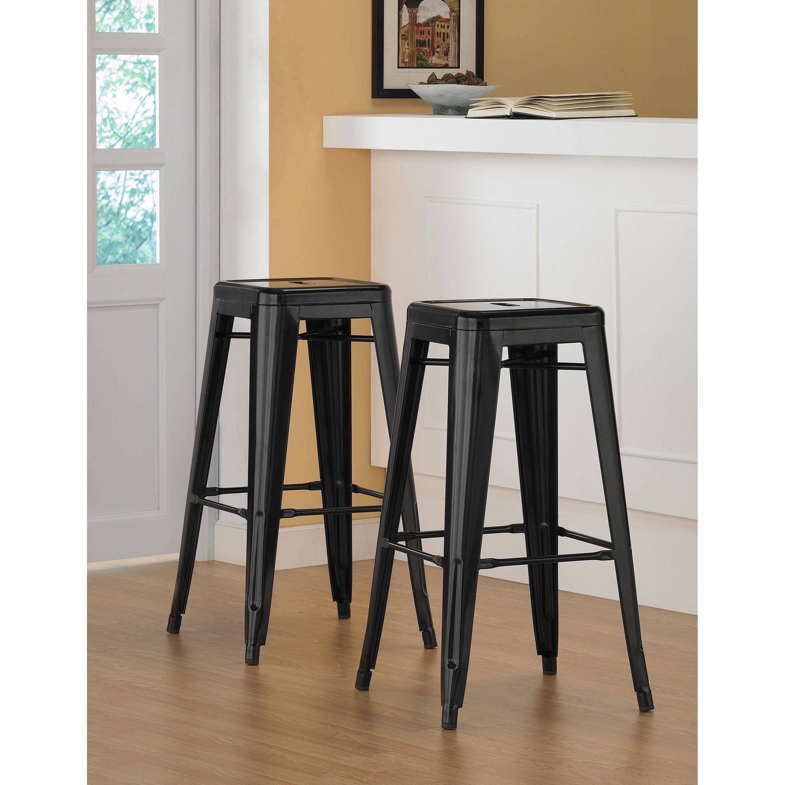 Dimensions tabouret inch metal bar stools products pinterest