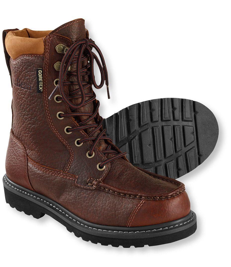 outlet vollständig in den Spezifikationen wie kauft man Men's Gore-Tex Kangaroo Upland Boots, Moc-Toe Leather ...