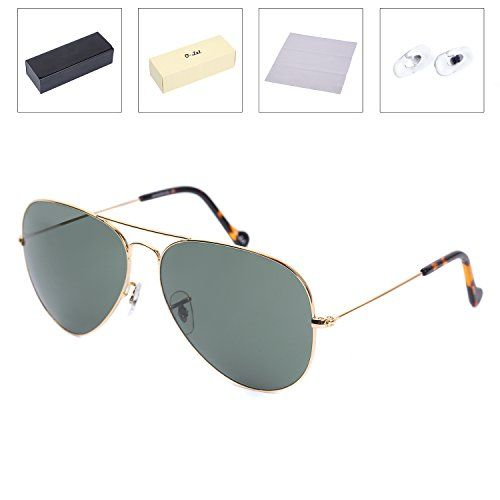 74b51f6431a OLet Oversized Aviator Sunglasses for Men Women Driving Fishing UV400 Glass  Lens    Want additional info  Click on the image.