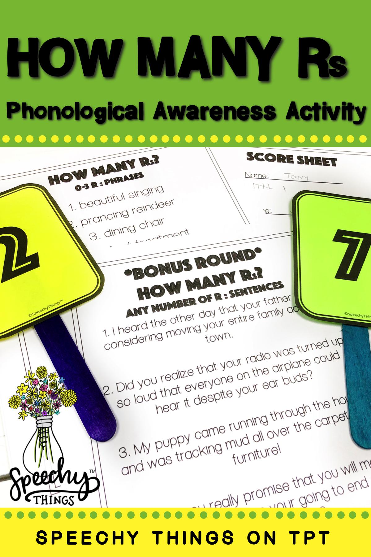 Phonological Awareness Game