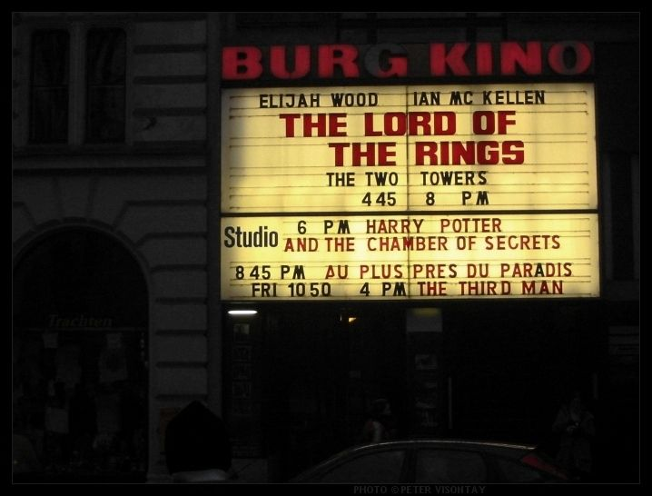 Burg Kino Is An English Language Cinema In Vienna See The Old Classic Movie The Third Man There Cinema Vienna The Third Man