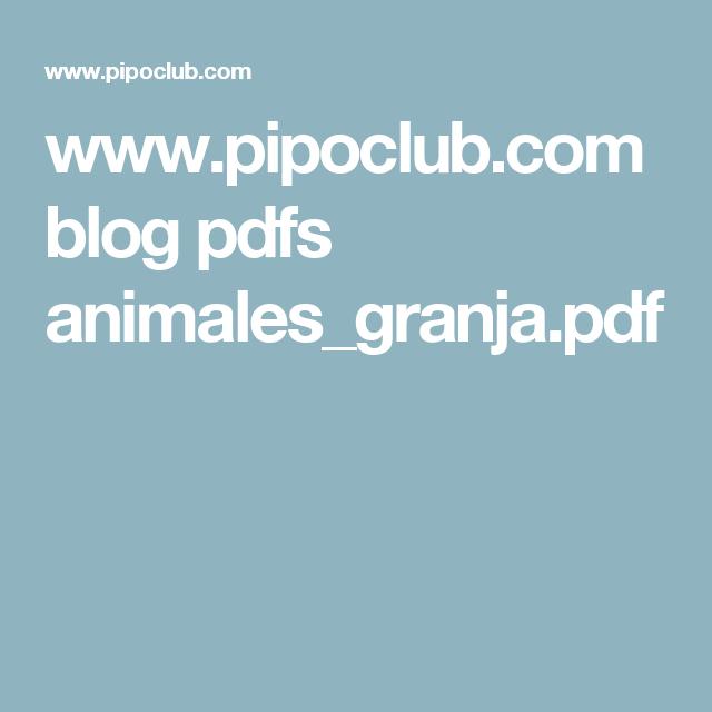 www.pipoclub.com blog pdfs animales_granja.pdf