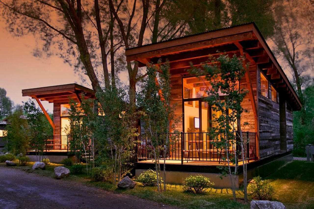 Amazing Fireside Resort, Wilson, Jackson, Wyoming Cabin Resorts In Jackson Hole