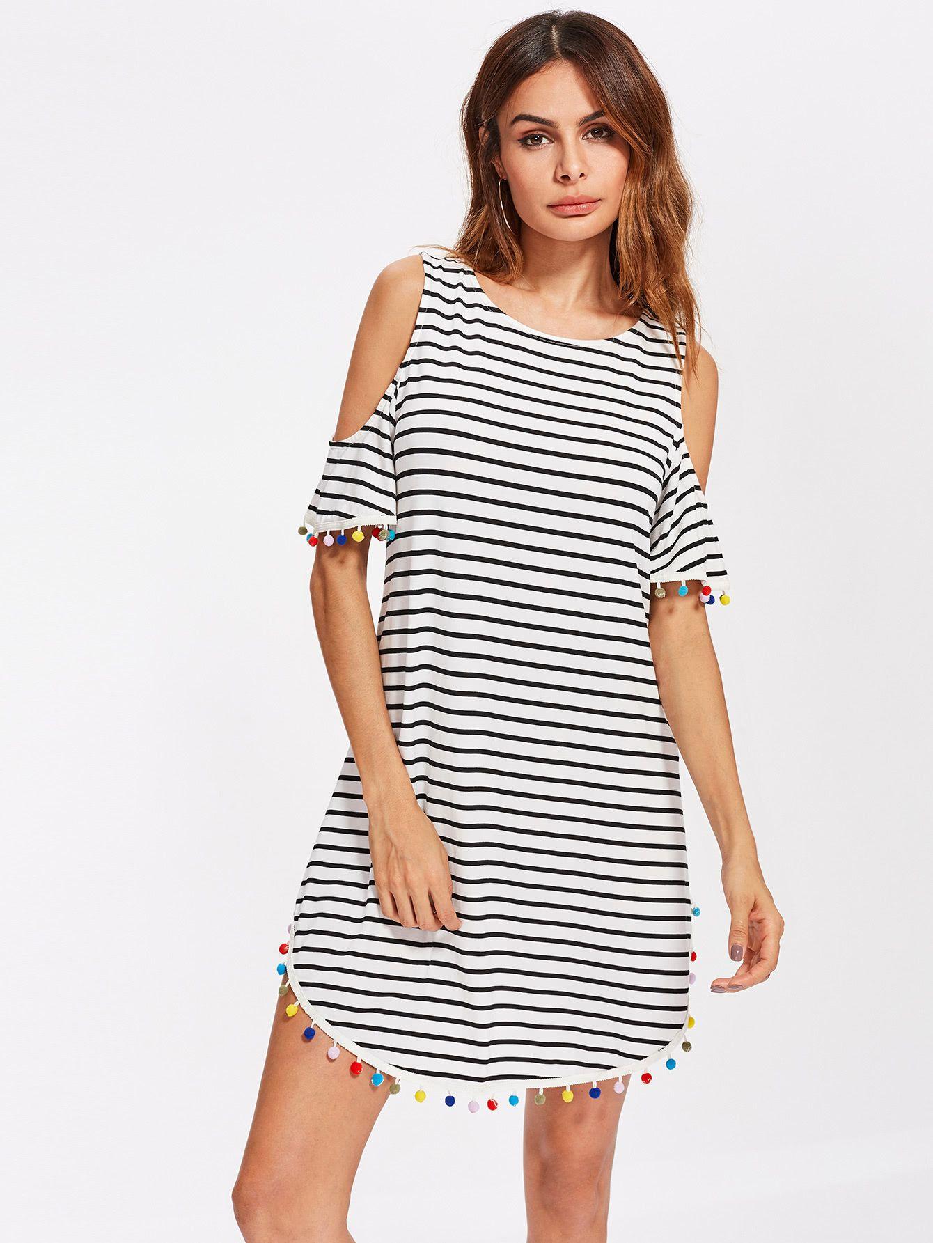 Knit Wear Consigue Este Tipo De Vestido Informal Shein Ahora Haz Clic Para Ver Los