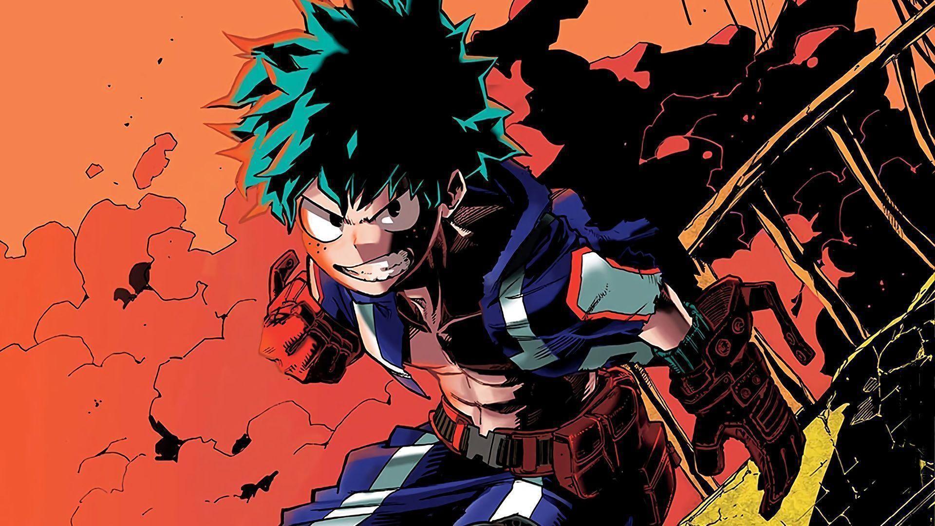 Boku No Hero Academia Wiki Wallpaper Di 2020 Manga