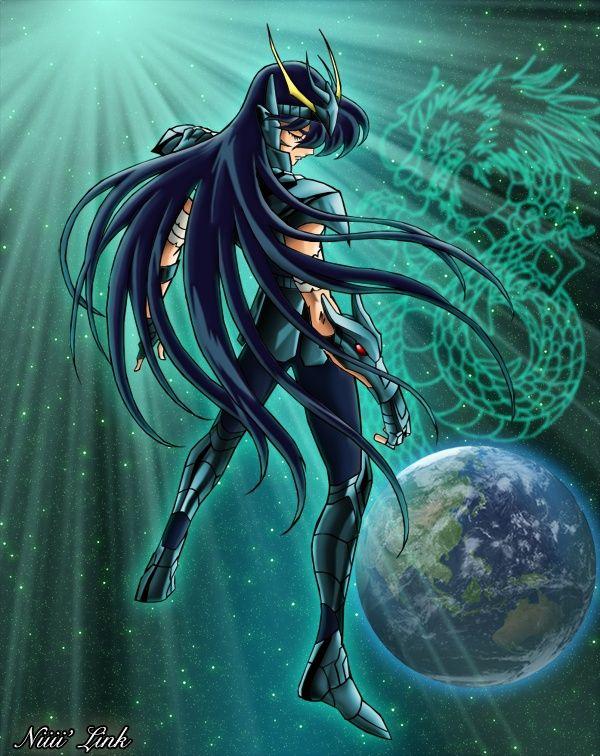 Saint Seiya Dragon Shiryu (con imágenes) Caballeros del zodiaco wallpapers Seiya caballeros