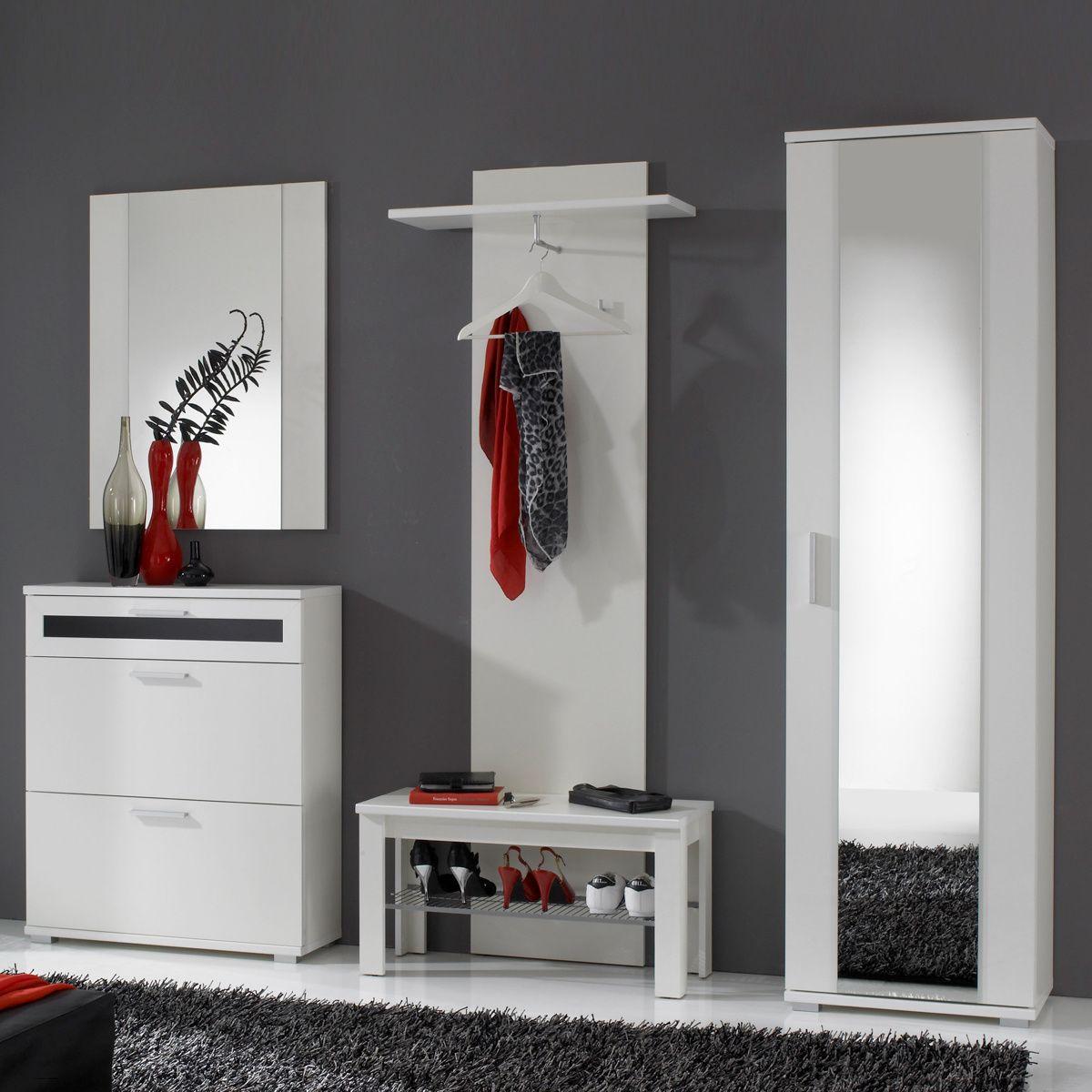 Garderobe Solido Set Mit Flur Schrank Schuhkommode Decor Home