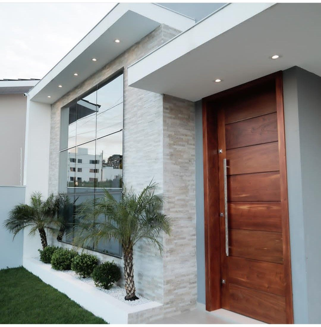 Roll De Entrada Fachadas De Casas Modernas Entrada De Casas Modernas Entradas De Casas Pequenas