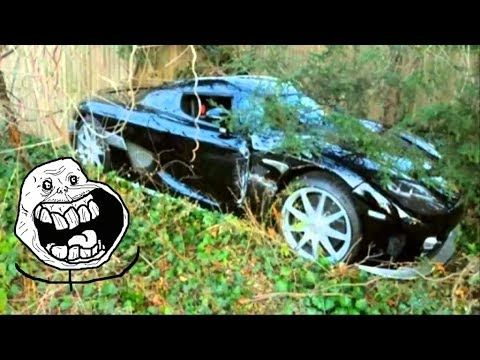 Abandoned Supercars And Luxury Cars Around The World Part13
