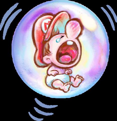 Yoshi's New Island oficial artwork