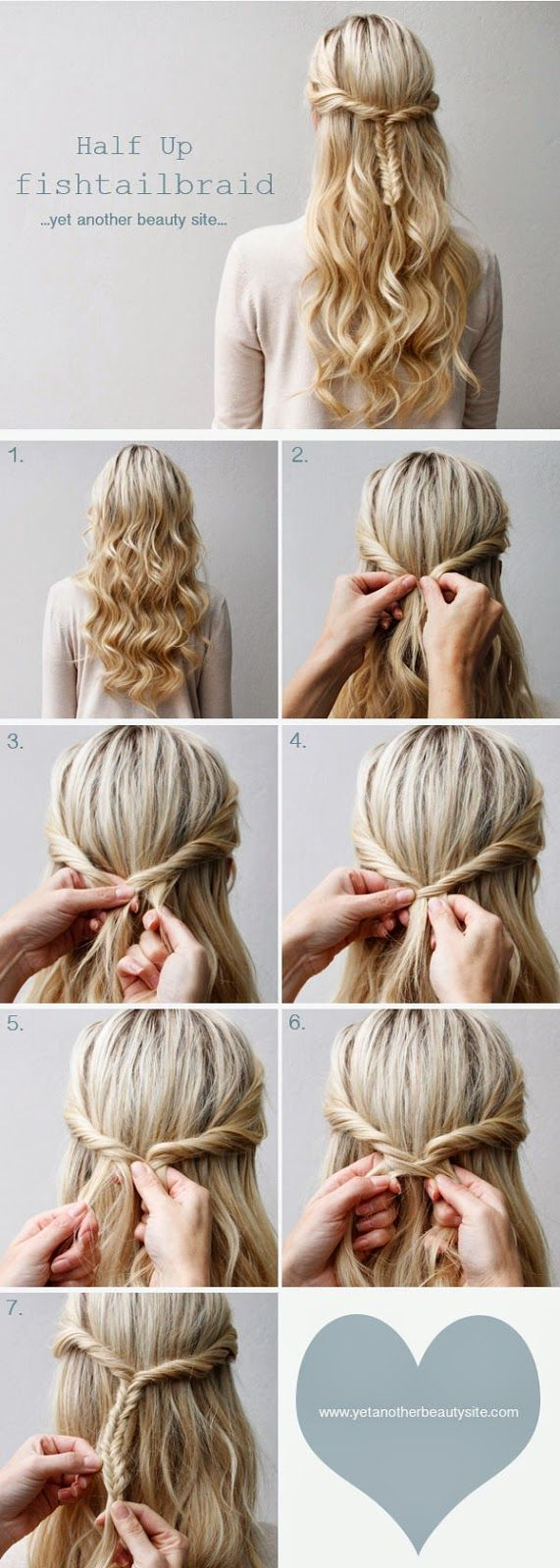gorgeous long hair tutorials you should steal from pinterest
