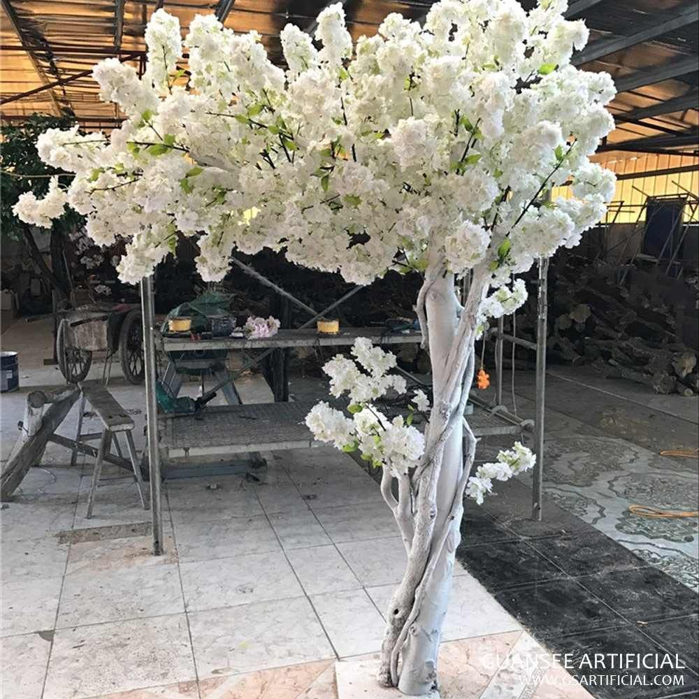Source Large Outdoor Artificial Cherry Blossom Tree With Real Touch Silk Sakura Flower On M Ali Artificial Cherry Blossom Tree White Blossom Tree Blossom Trees