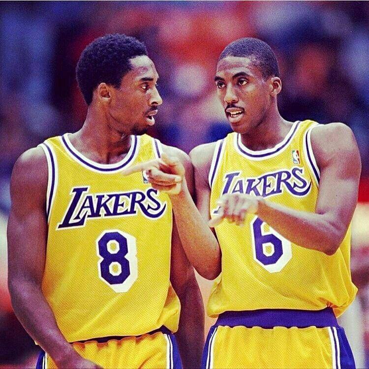 Kobe Bryant and Eddie Jones Young kobe bryant, Kobe