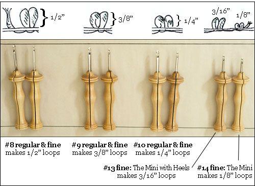 Rug Yarn Punch Needle Oxford Punch Needles Needlework