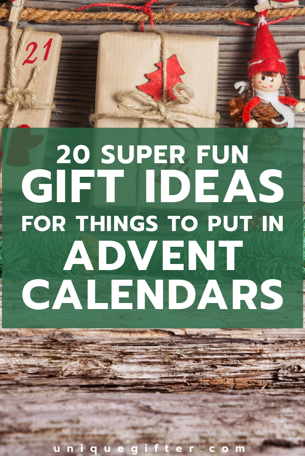 Best Ideas For Things To Put In Advent Calendars Unique Gifter Christmas Advent Calendar Diy Homemade Advent Calendars Advent Calendar Gifts