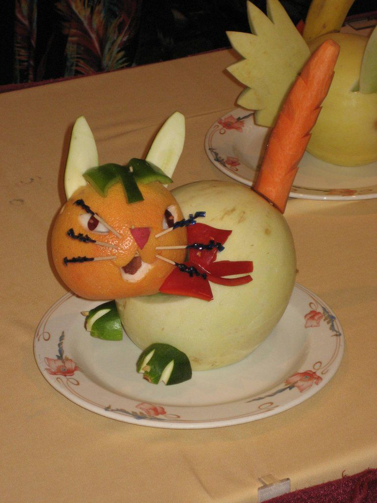 Vegetable fruit carving for kids easy to learn