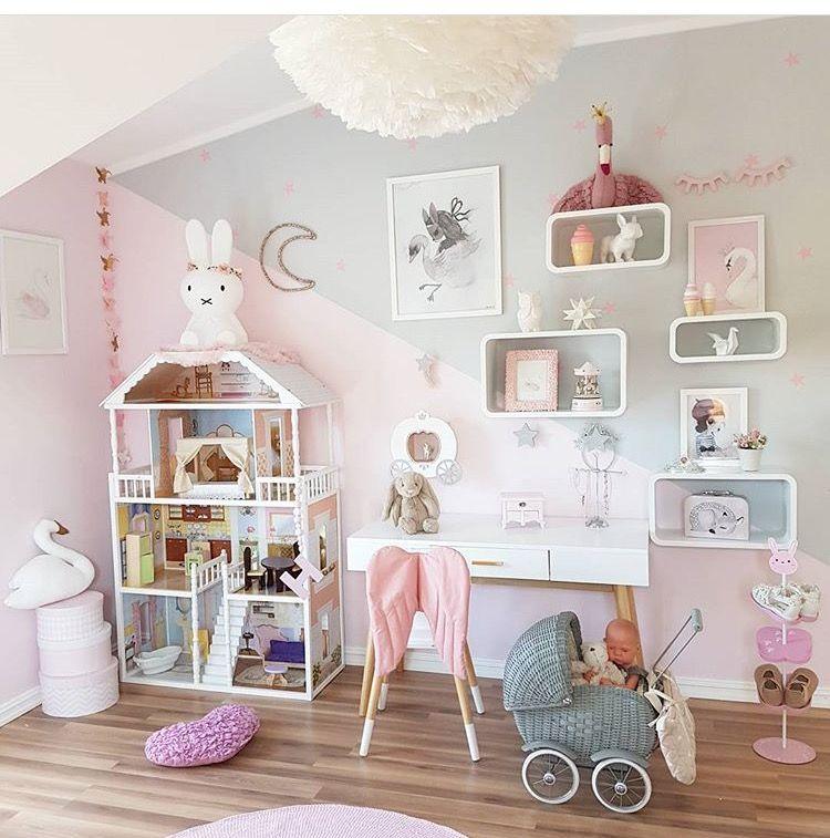 Pin de lorena en cuarto pinterest dormitorio for Habitaciones para ninas pequenas