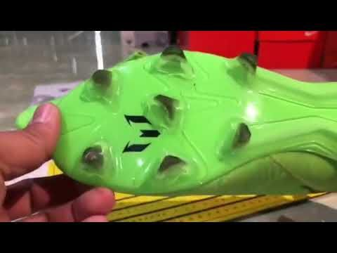 Pin On Soccer Adidas Nemeziz Messi 18 1 Fg Green Black