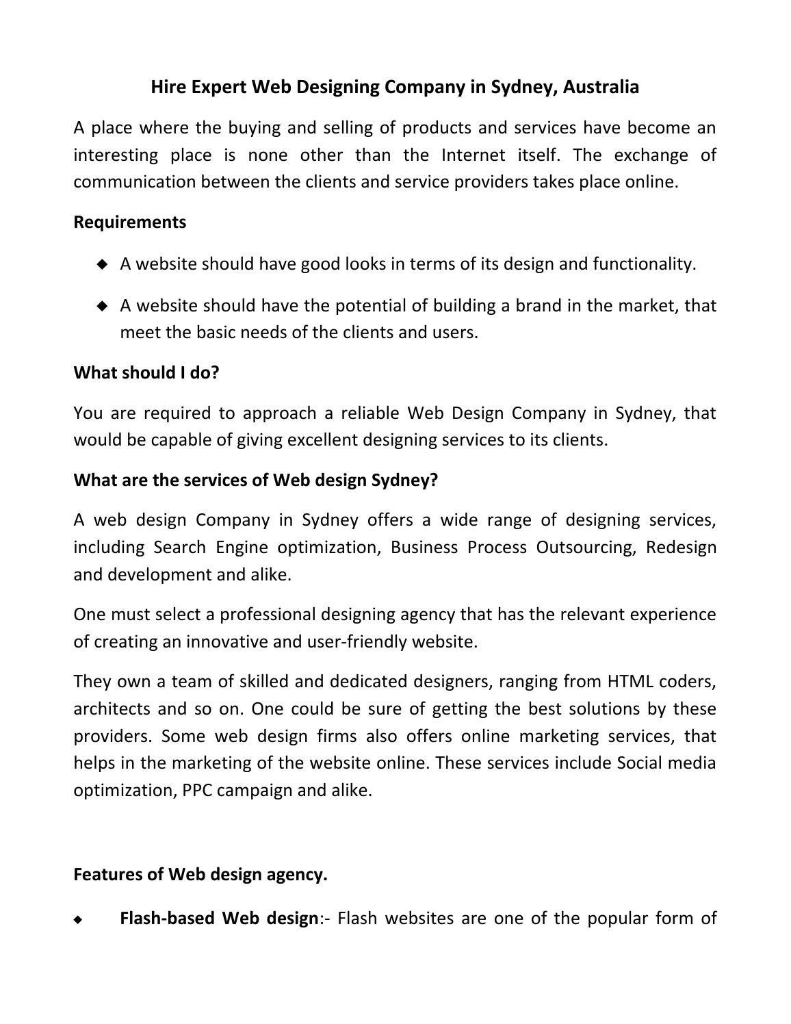 Web Designing Company In Sydney Australia Web Design Web Design Company Best Web