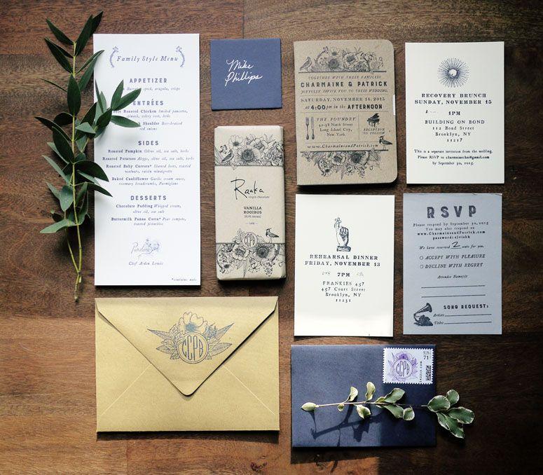 Charmaine & Patrick Wedding Invitation designed by Charmaine Choi ...