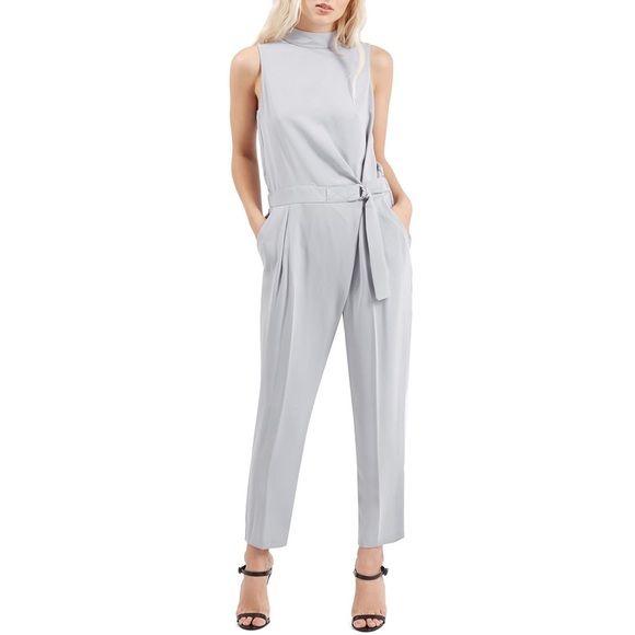 Topshop, Fashion, Belt Jumpsuit