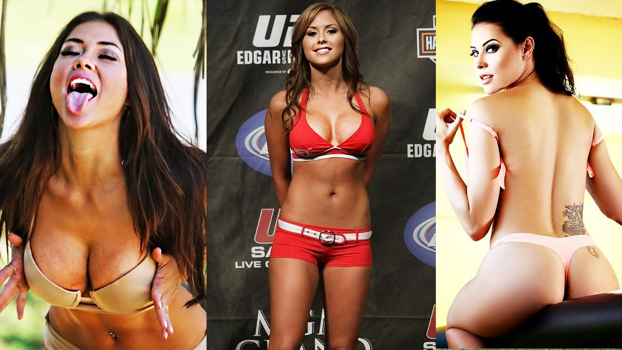 Ufc Ring Girl Edith Labelle