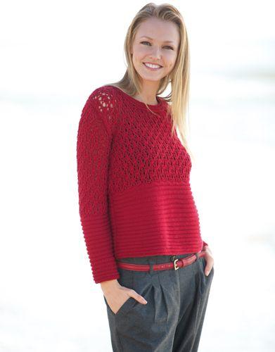 merino sport katia pull femme | Knitting | Pinterest | Revista mujer ...