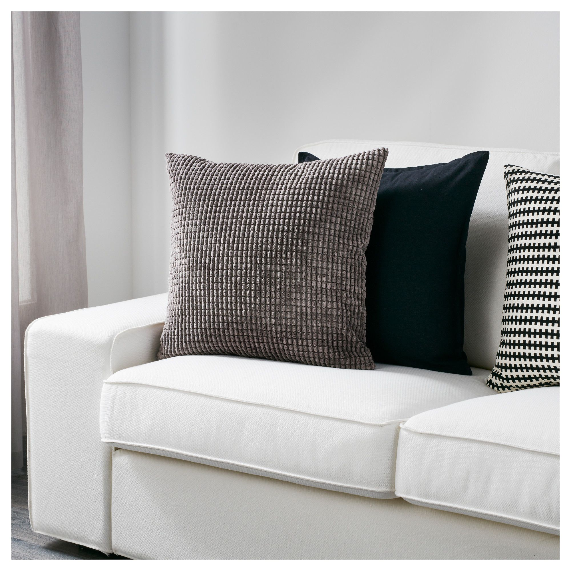 Gullklocka Cushion Cover Gray Ikea Canada Ikea Cushion Cover Ikea Cushions Ikea