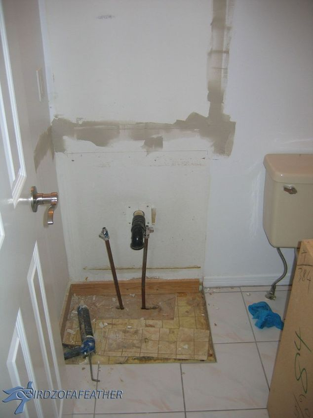 Awesome Websites powder room makeover champagne taste on a beer budget bathroom ideas decoupage doors