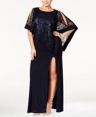 RM Richards Womens Sleeveless Full Figured Lace Party Dress Plus Size