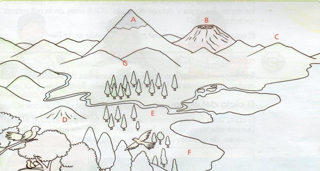 Imagenes Sobre Las Formas Del Relieve Nevado Volcan Cordillera Llanura Para Colorear Buscar Con G Fichas Fichas De Matematicas Ciencias Sociales Primaria