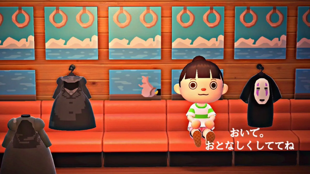 Spirited Away Recreated In Animal Crossing New Horizons In 2020 Animal Crossing New Animal Crossing Spirited Away