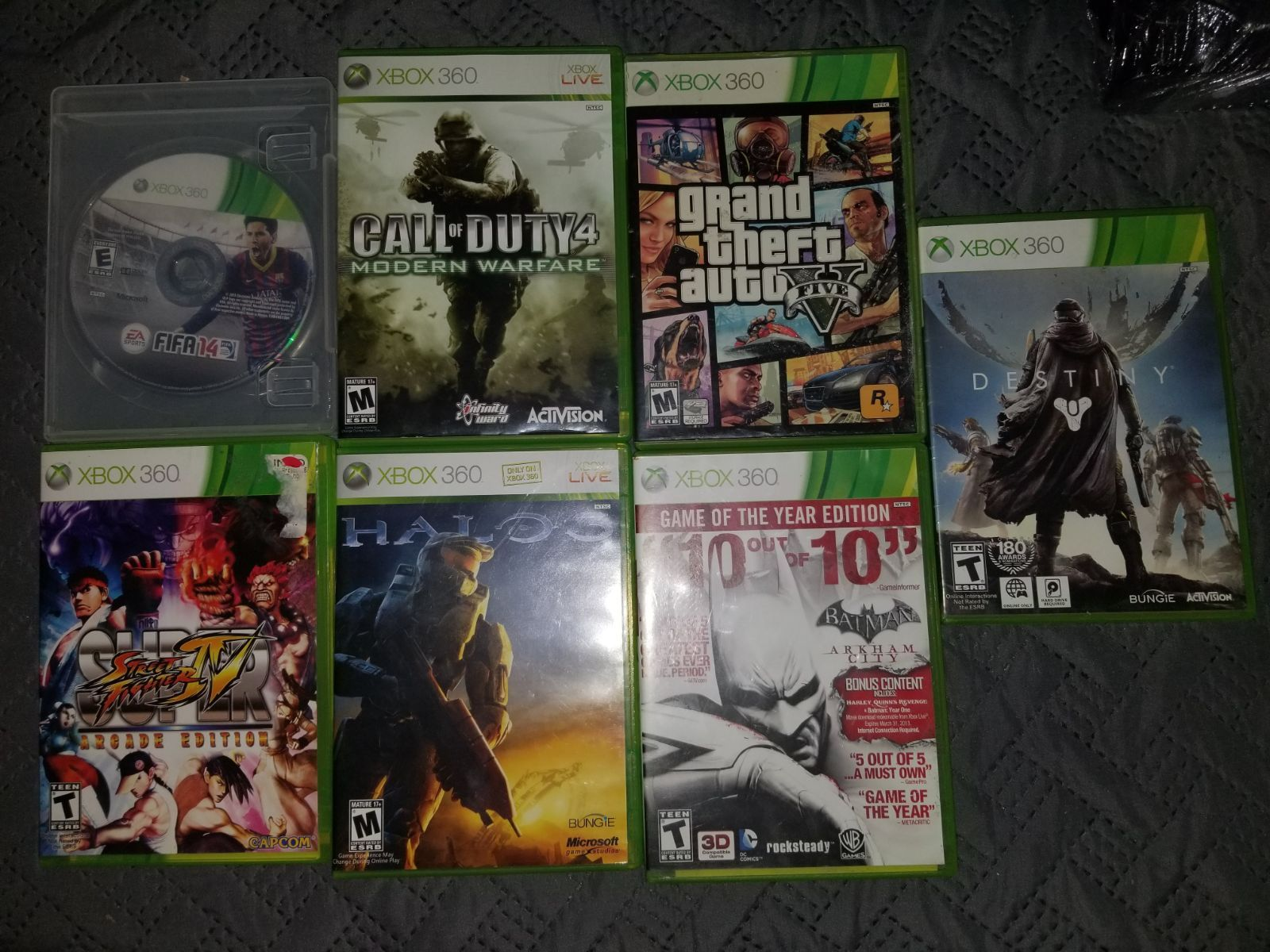 So I Have 8 Xbox 360 Video Games That I Am Trying To Sell First