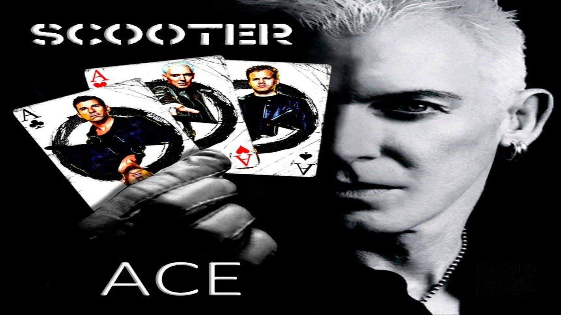 Scooter ACE (Album) Band posters, Scooter, Cool bands