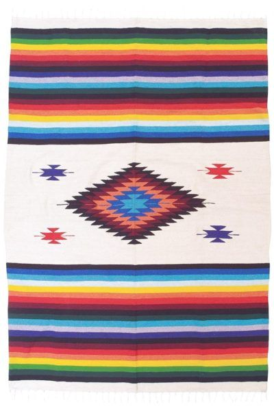 Where To Buy Mexican Blankets In San Antonio Rainbow Rug