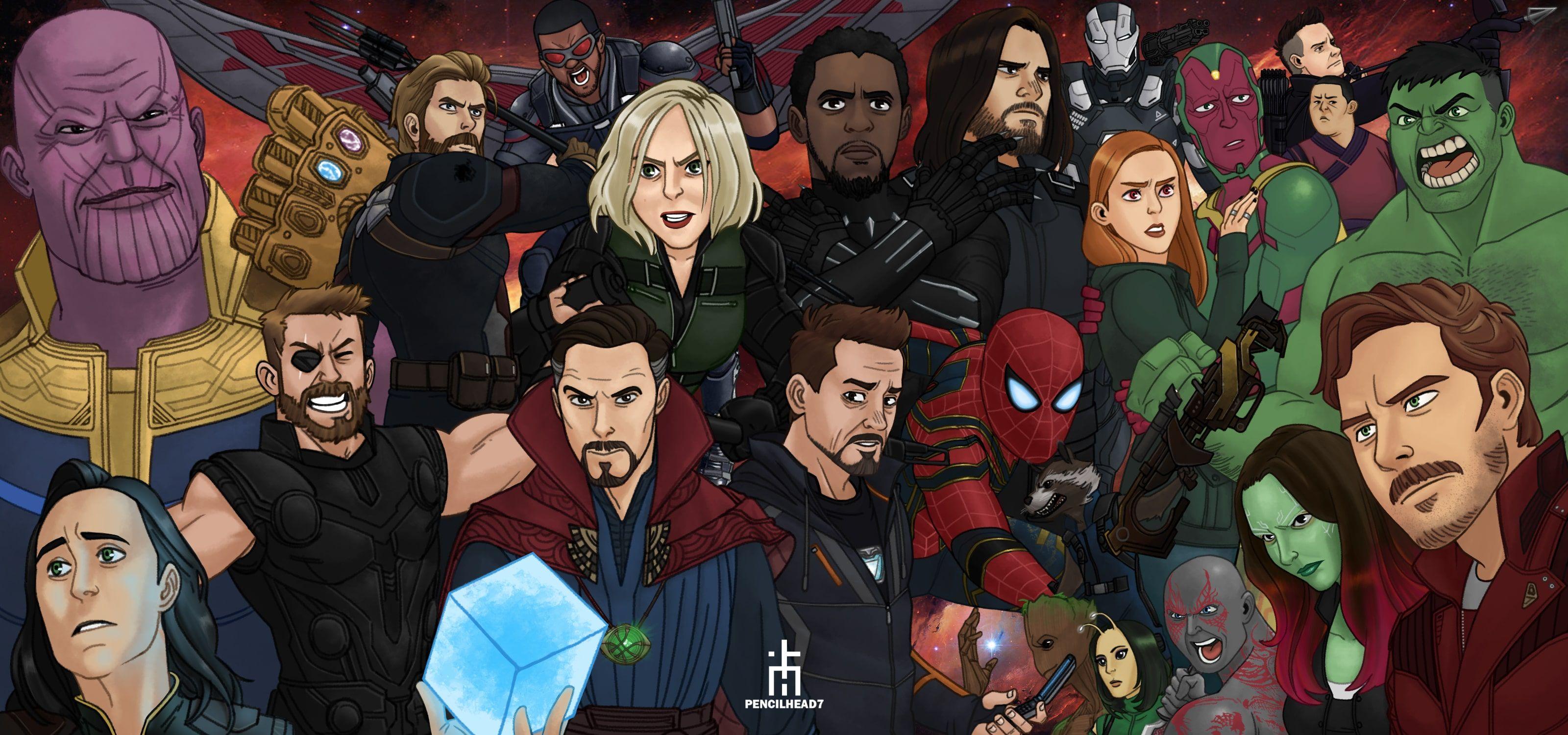 Marvel Comics Superheroes Avengers Drawing Marvel Comics