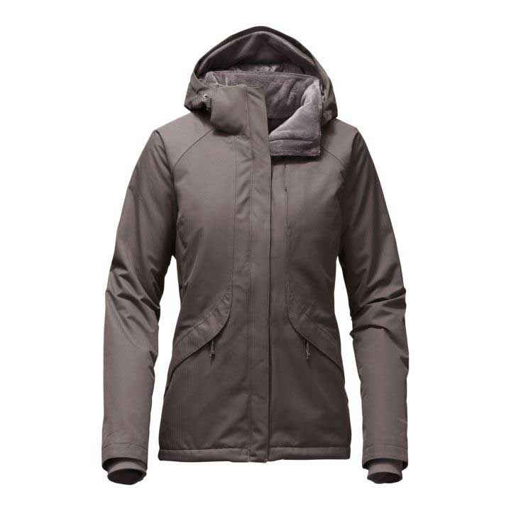 The north face womens inlux insulated jacket in quail grey the north face womens inlux insulated jacket in quail grey heather nf0a2vea hsq sciox Image collections