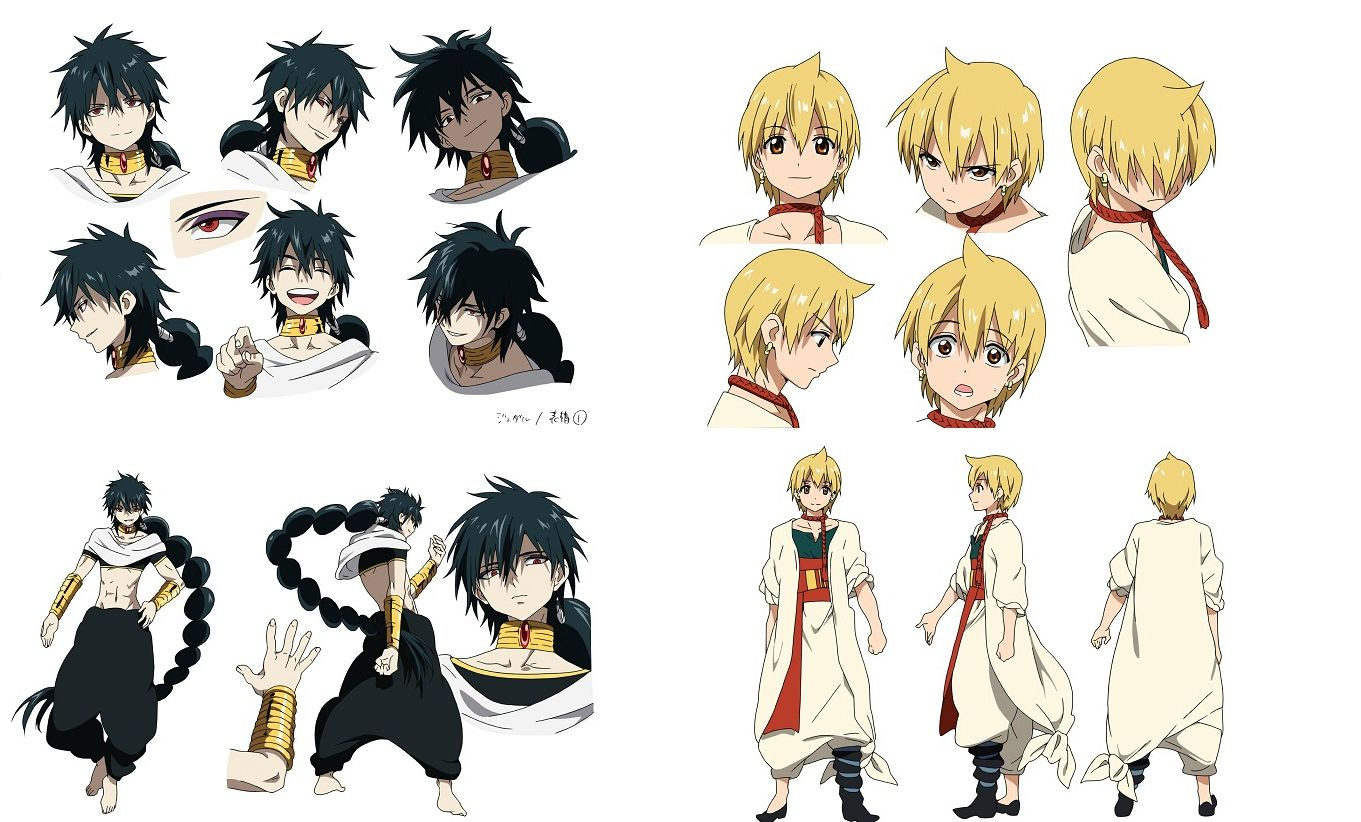 /MAGI The Labyrinth of Magic/1283384 Zerochan Anime