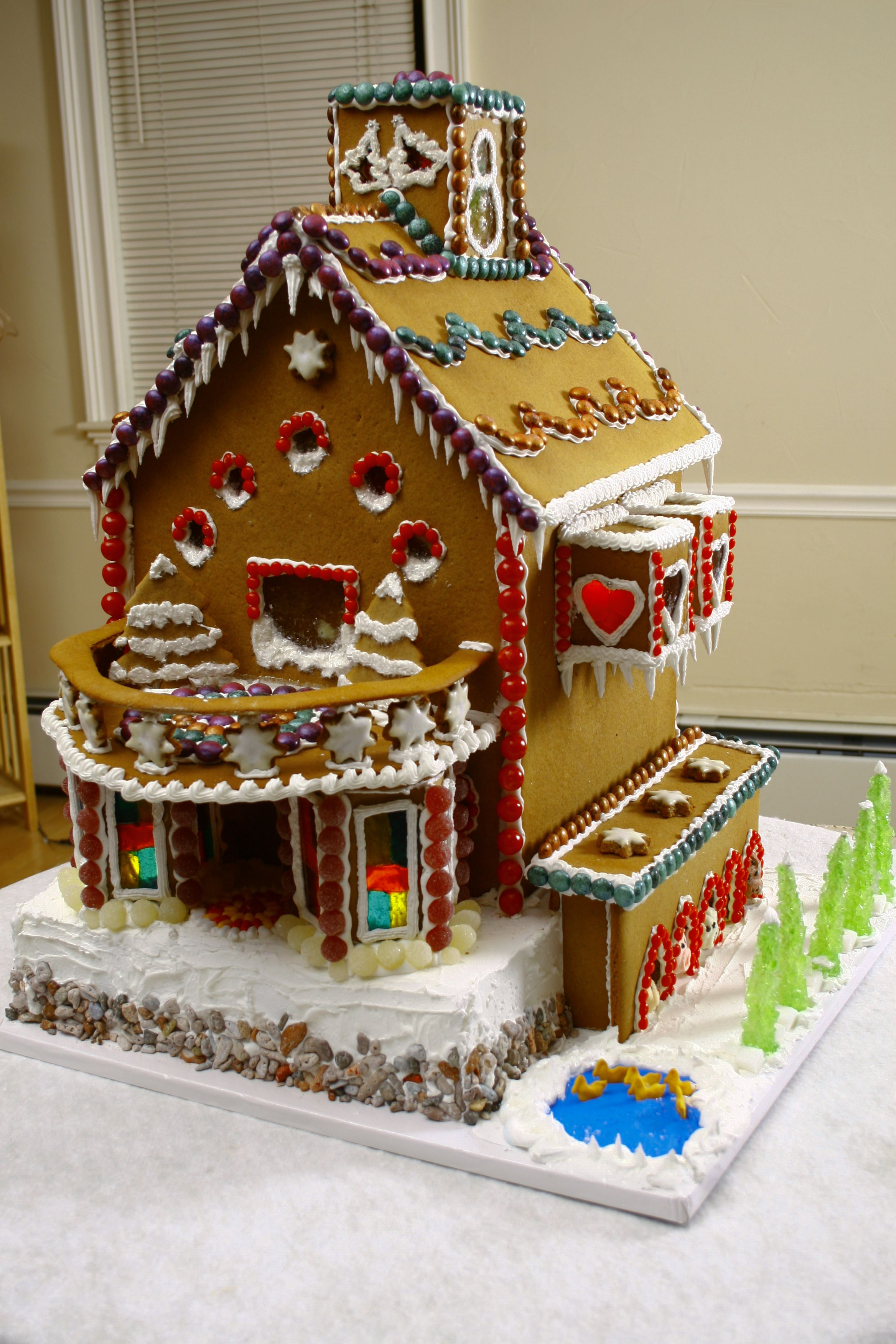 """""""Gingerbread Mansion""""! So cool! Brought to you by Shoplet"""